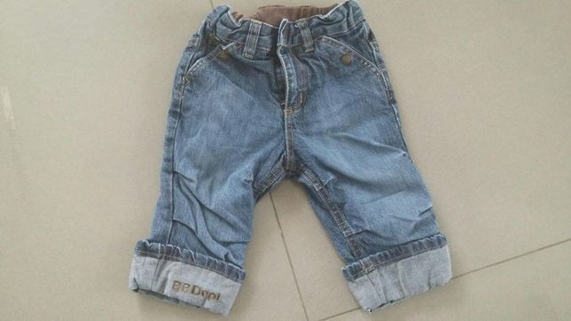 Spodnie H&M rozm. 74 ocieplane