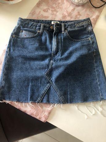 Spodniczka jeans tommy hilfiger zalando