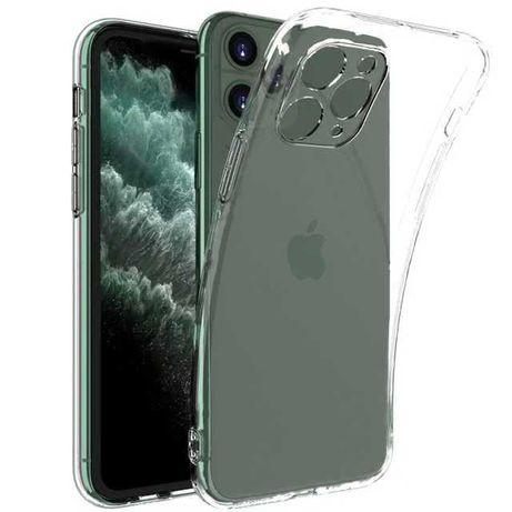 Etui silikonowe bezbarwne do Iphone 11