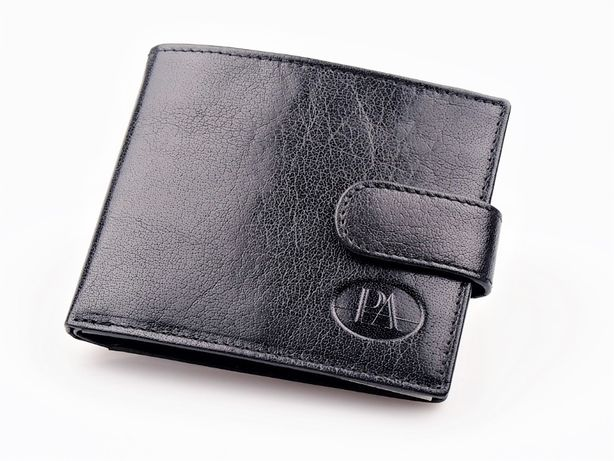 Męski portfel skórzany Pierre Andreus skóra RFID