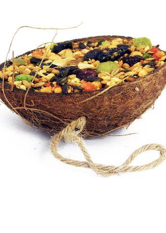 Przysmak dla gryzoni w kokosie dla krolika świnki chomika szczura mysz