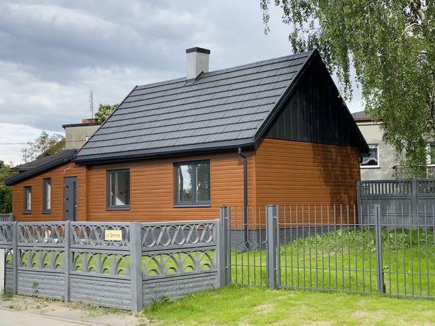 Domek drewniany po remoncie