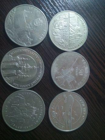 Монета Успенский собор Киево-Печерской Лавры, 5 гривен, 1998 г.