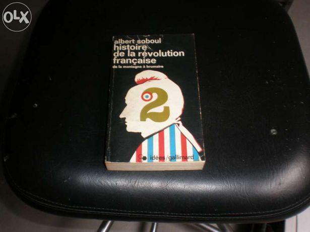 Livro Histoire de la révolution française