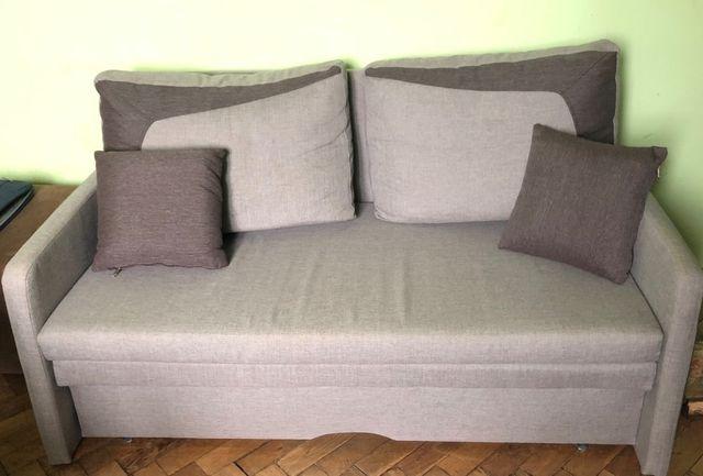 Sofa, rozkładana, do siedzenia i do spania