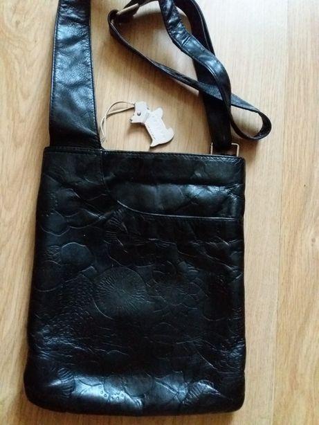 Женская кожаная сумка - планшет REDLEY.