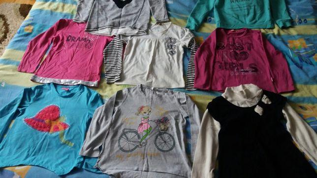 Mix bluzeczki 128-140