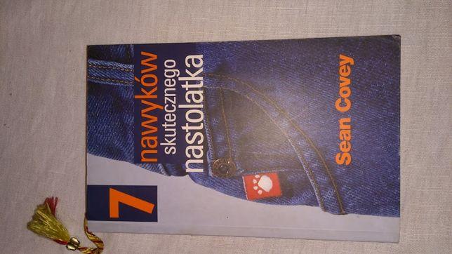 """Ksiązka """"7 nawyków skutecznego nastolatka"""" Sean Covey"""