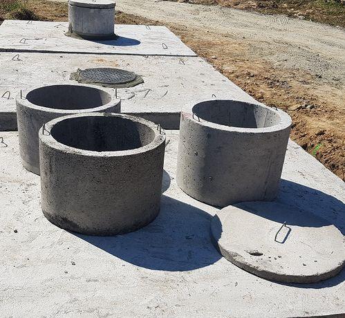 Szamba betonowe zbiorniki na deszczówkę.Zbiornik betonowy-szambo.