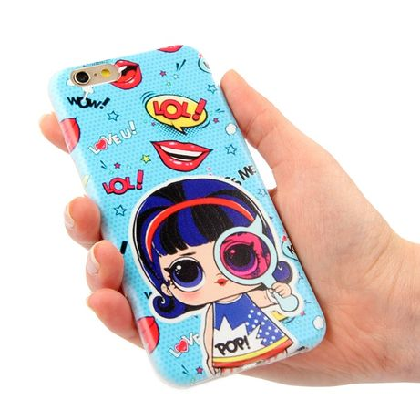 LOL SURPRISE OMG etui do telefonu Iphone Samsung Huawei Xiaomi Lenovo