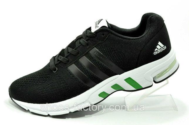 Мужские кроссовки Adidas Equipment Torsion, Чёрный/Зелёный, купить
