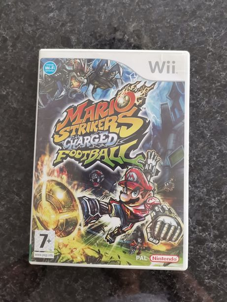 Jogo Mario Strikers Charged Football Wii