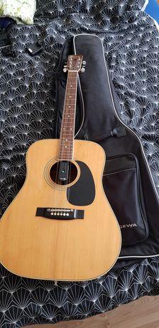 Gitara Kiso Suzuki W-200 akustyczna Dreadnought +futerał Made in Japan