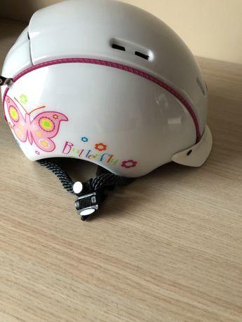 Kask rowerowy dla dziewczynki.