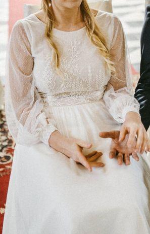 Sukienka Ślubna Ochocka Atelier rozmiar 42