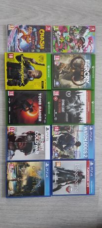 Gry Ps4 Ps5 Xbox One Nintendo Switch