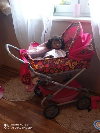Sprzedam wózek polskiej firmy z lalka Baby Alive