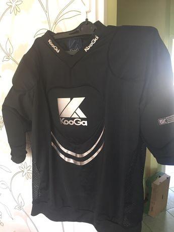 Koszulka rugby KooGa z ochraniaczami