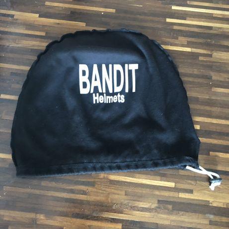 Worek ochronny etui na kask Bandit Helmets czarny wiązany