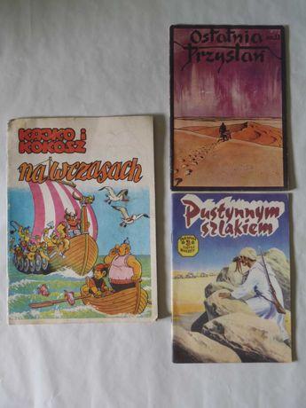 Stare polskie komiksy zamienię