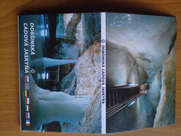 Mini pocztówki w harmonijce Dobśinska L'adova Jaskyńa