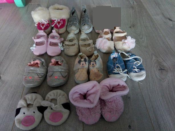 Paka ciuszków dla dziewczynki ponad 60 sztuk 62-68 + buciki+kombinezon