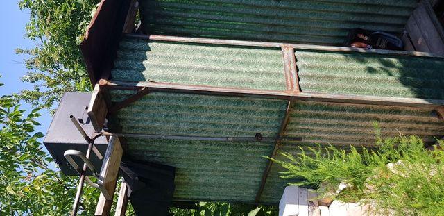Летний душ кабина с металлическим баком