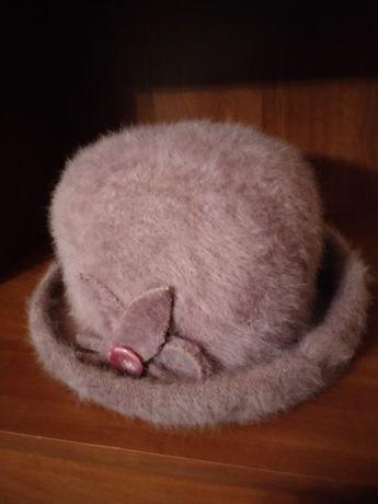 Fioletowy kapelusz