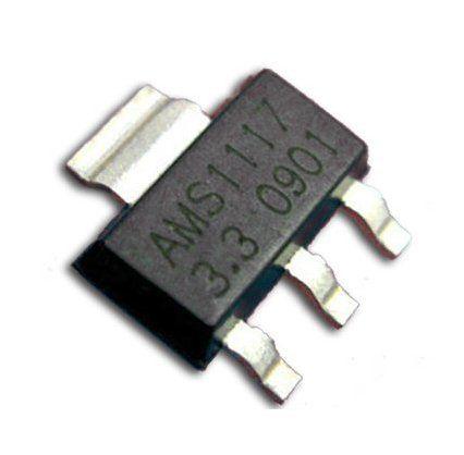 Микросхема стабилизатор AMS1117 (3.3V 1A) LDO 10 шт