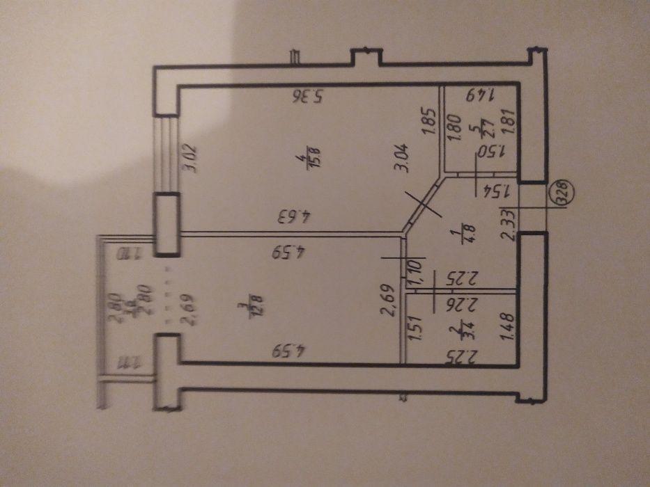 ПРодається ЗДана, 1-кімнатна квартира,40м.кв., 2поверх Ивано-Франковск - изображение 1