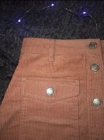 trapezowa sztruksowa spodnica A pinterest cute