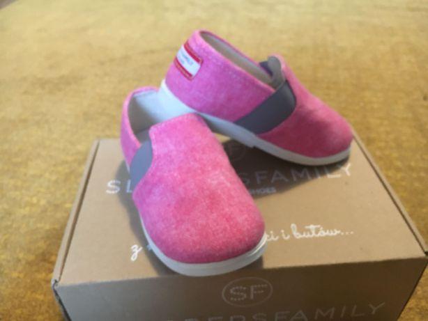 Buty dla dzieci z gumką Lolly Pop Slippers Family.