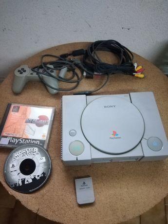Playstation 1 + jogos
