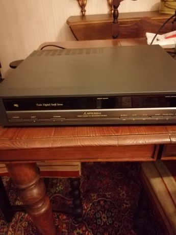 Leitor gravador VHS Mitsubishi