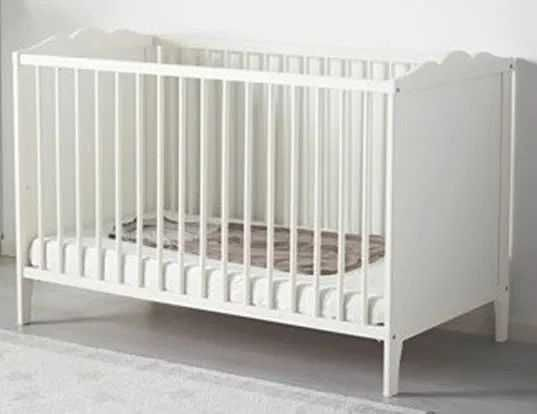Berço Branco IKEA + Colchão
