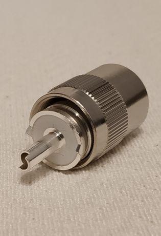 Wtyk antenowy do CB, KF, UKF UC-1, SO-239, PL259/6