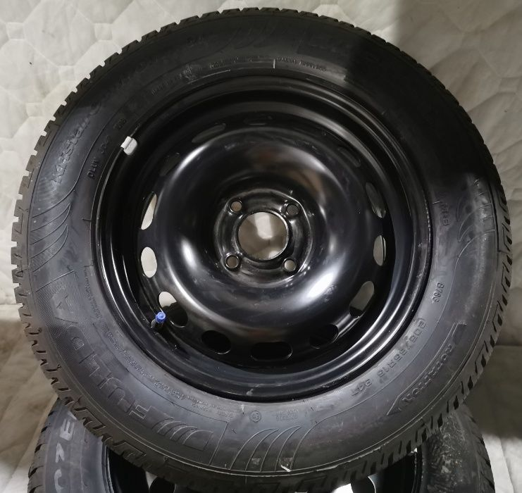 Hurt nowe koła 6,5Jx15 Peugeot Citroen 4x108 ET27 Fulda 205/65R15 zima Ciepłowody - image 1
