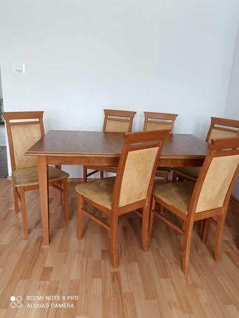 SPRZEDANE   Stół i 6 krzeseł