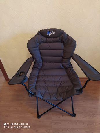 """Раскладное кресло """"Рыбак Люкс Марлин"""". Кресло для рыбалки.Стул. Крісло"""