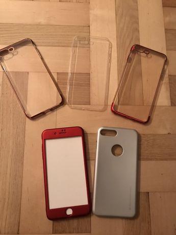Zestaw nowych etui do IPhone 7 Plus.