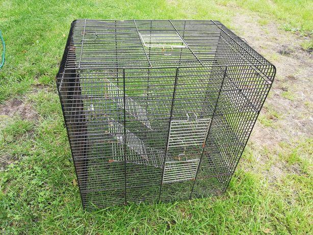 Klatka dla zwierzaka 4 poziomy 37x57x60cm