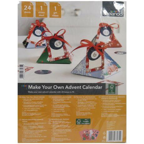 Адвент календарь, рождественский декор новогодний crelando melinera