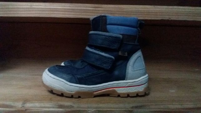 Ботинки bisgaard зимние детские