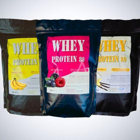 Whey protein 80 POLSERO Сывороточный протеин 80% белка гейнер BCAA