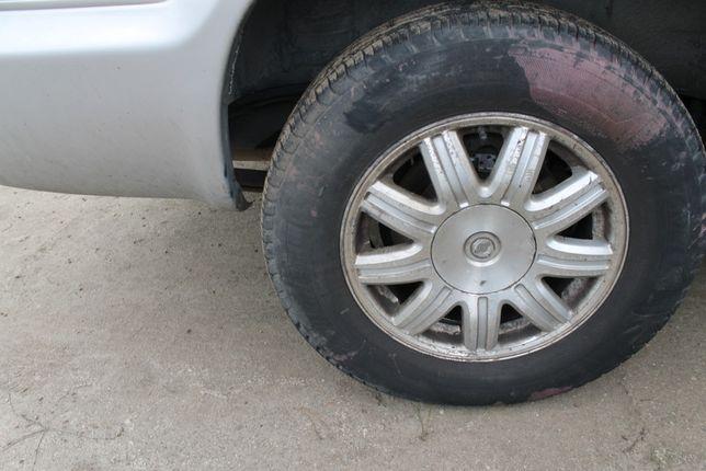 Felgi aluminiowe 16 cali Chrysler Voyager Town & Country 01-07