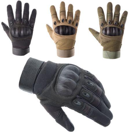 Закрытые тактические перчатки мото/вело/охота полный палец спорт