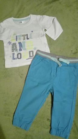 Spodnie I koszulki 4szt. r.74