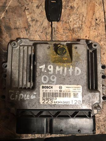 Блок управління двигуном(єбу) Doblo 1.9