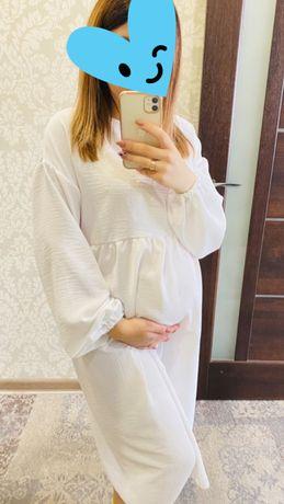 Белое платье можно беременым