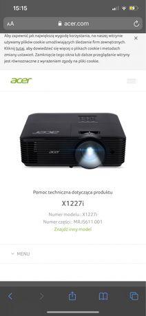 Projektor acer X1227 z wifi 3D
